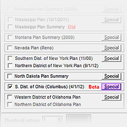 Special Button for the Southern District of Ohio Plan