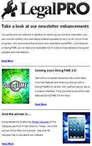 Revamped Newsletter