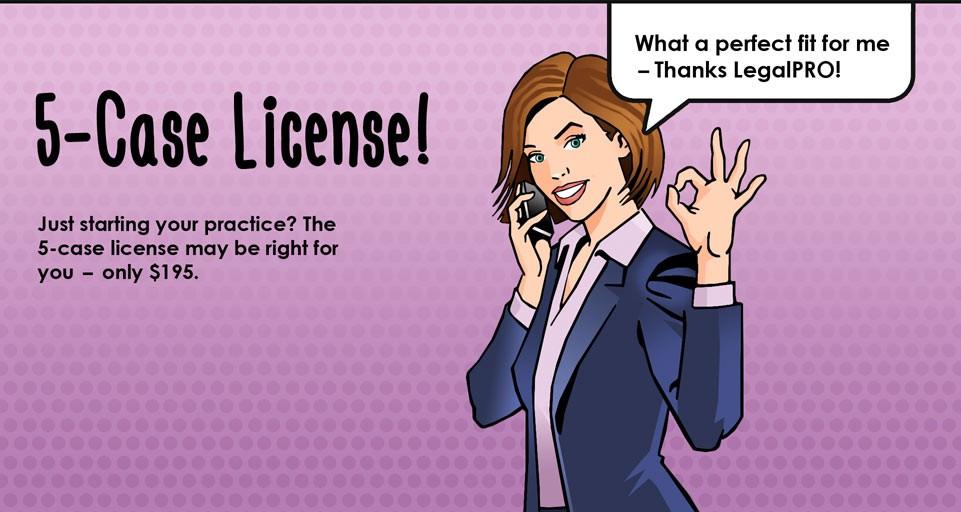 BankruptcyPRO 5-Case License!